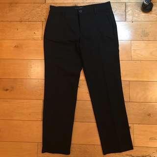 Mango Basic Black Pants