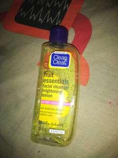 Clean and clear facial wash
