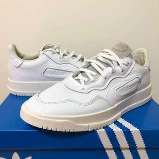 🚚 愛迪達 Adidas SC Premiere 白色皮革運動休閒鞋/台灣未上市/阿迪達斯貝克漢著用款