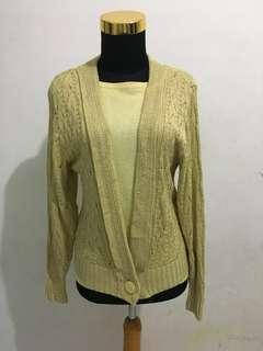 Knitwear 1 set murah