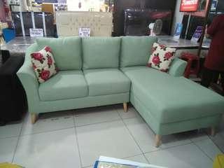 Hanya bayar admin 199rb bisa nyicil sofa L bed