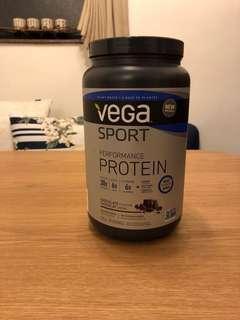 95% NEW VEGA Choc Flavoured Plant Protein Powder