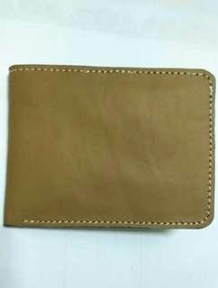 Dompet lipat kulit asli