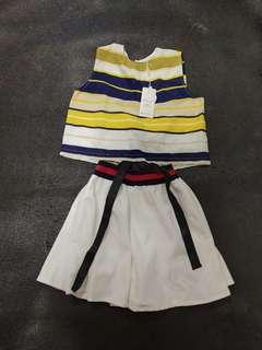 🚚 Dress  2 pc set