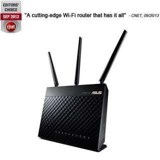 🚚 Asus RT-AC68U AC1900Router