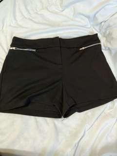 Suzy Shier Black Shorts