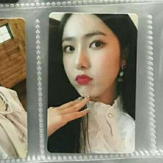 [WTB]GFRIEND SINB TIME FOR US LIMITED EDITION PHOTOCARD