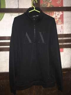 Armani Exchange Half-Zip Sweater