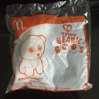 🚚 $2 BN Frostiness TY Beanie Boo's Mc D Happy Meal Toy