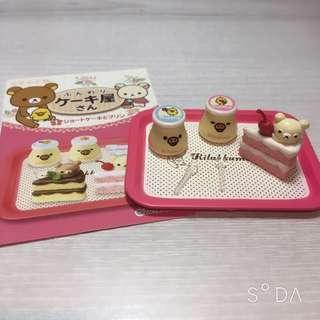 🚚 拉拉熊絕版盒玩鬆軟蛋糕屋第一組