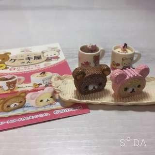 🚚 拉拉熊絕版盒玩鬆軟蛋糕屋第2組
