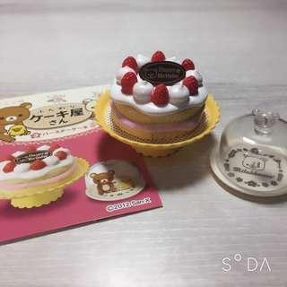 🚚 拉拉熊絕版盒玩鬆軟蛋糕屋第3組