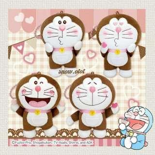 日版Doraemon公仔掛飾♥ 日本直送 多啦a夢/多啦美/叮噹/機械貓 /叮嚀/元祖/朱古力/plush/soft toy/kids doll/women accessories