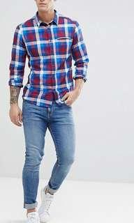 Esprit EDC Checkered Long Sleeve Shirt