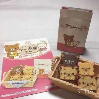 🚚 拉拉熊絕版盒玩鬆軟蛋糕屋第4組