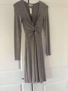 Wilfred dress (NWT)in marl brownish grey. Has a stretch so can fit a small.