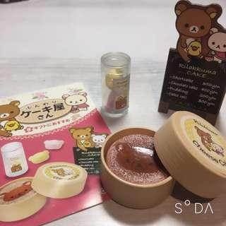 🚚 拉拉熊絕版盒玩鬆軟蛋糕屋第8組