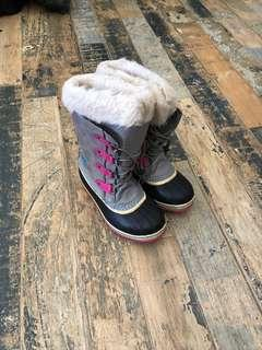 Girls Sorel Winter Boots, size 5
