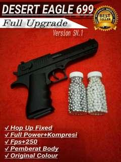 Handgun Toys Spring Desert Eagle 699 Full Upgrade Custom