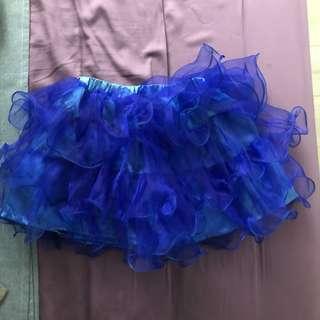 🚚 超可愛寶藍色蓬蓬裙