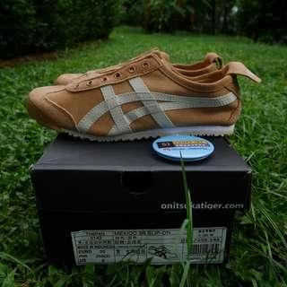 Onitsuka tiger mexico 66 slip on brown
