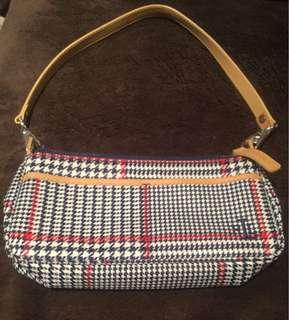 Ralph Lauren Canvas Houndstooth Plaid Bags