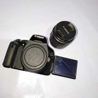Canon Eos 600D + Lensa Kit 18-55mm