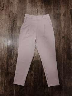 pink pants/ culotte