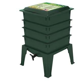 Worm Factory 360 Worm Composter, Green/black
