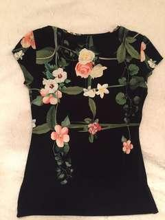 Ted Baker floral Cotton T-shirt