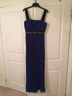 Royal Blue BCBG Maxi Dress
