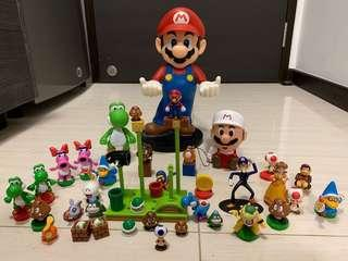 Super Mario Set, with free gifts.
