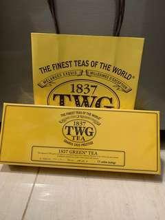 TWG 1837 Green Tea 15 cotton tea bags