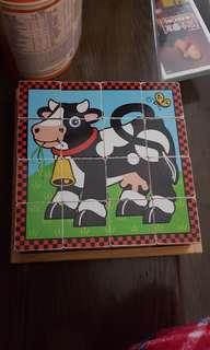 Melissa and Doug cube puzzle