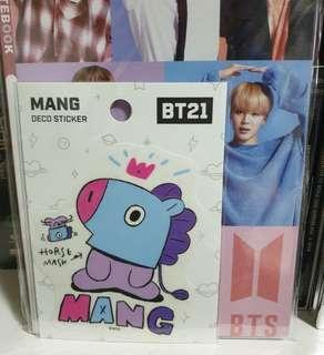 BT21 MANG DECO STICKER