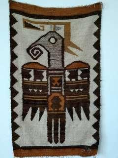 Antique Woollen weaver. Handcrafted. Rugs.