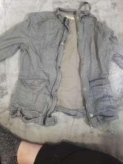 Size small gray jacket