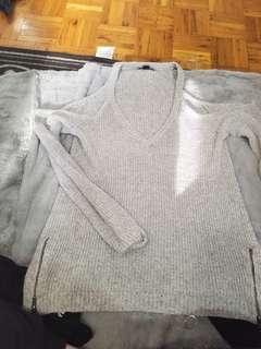 Size large shoulder cut out top