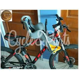 Front Mount Bicycle Child Seat ☆ Brand New ☆ Made In Taiwan! ☆Simple & Nice ☆Easy Installation *Rear mount type available at $39, See pic 3 & 4.