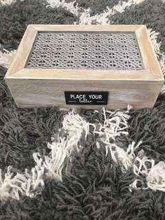 Box for decor