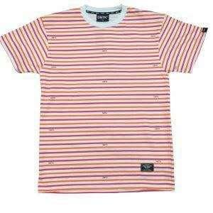 LOOKING FOR : Channel striped tee white