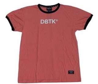 LF : DBTK RINGER TEE PINK
