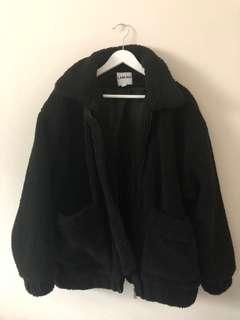 I.am.gia teddy coat jacket size s
