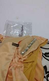 Tiara hijab PLP yellow
