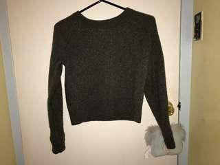 Aritzia Cropped Sweater