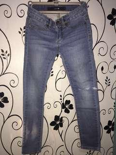 Joe's kids ripped jeans