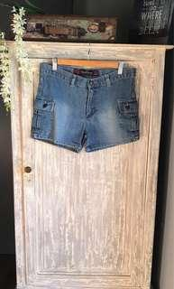 Steve Barry Denim Shorts