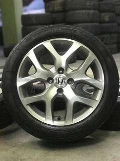 original honda city 16 inch sports rim free gift tyre