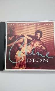 CD Celine Dion - Colour Of My Love