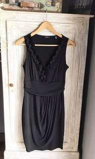 (Used Once) BRANDED Esprit Little Black Sleeveless Dress